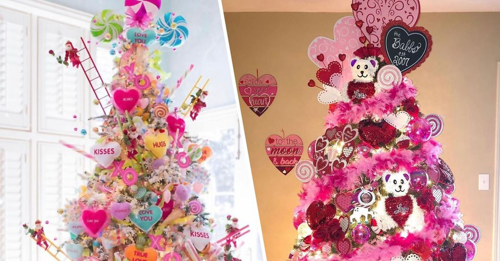 People Are Making 'Valentine's Trees' a Thing and We're Not Mad About It