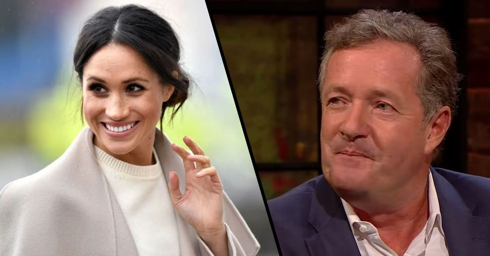 Piers Morgan Leaks Private Message From Meghan Markle