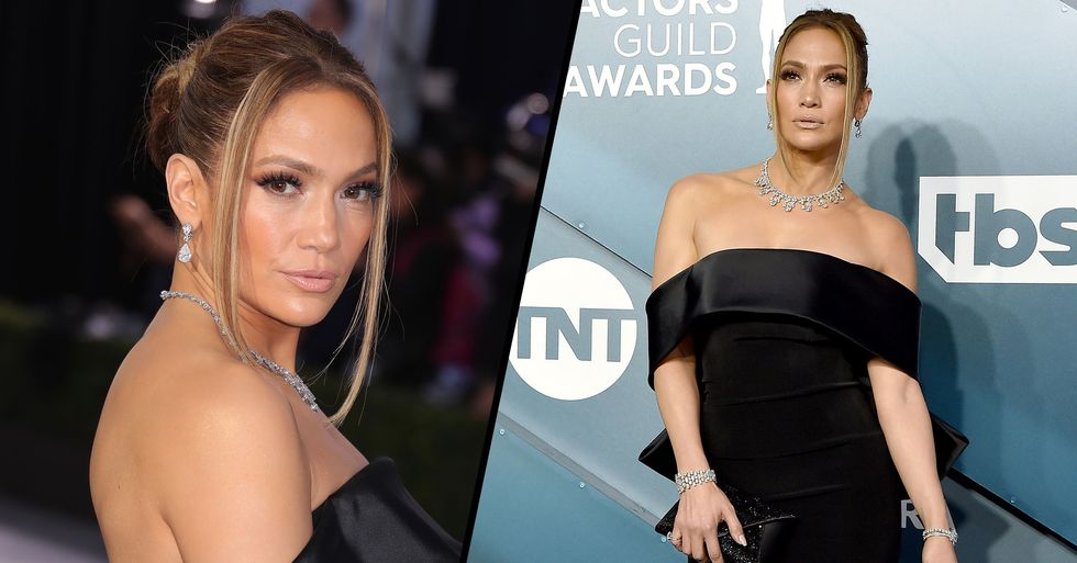 Jennifer Lopez Wore Over $9 Million Worth of Diamonds to SAG Awards