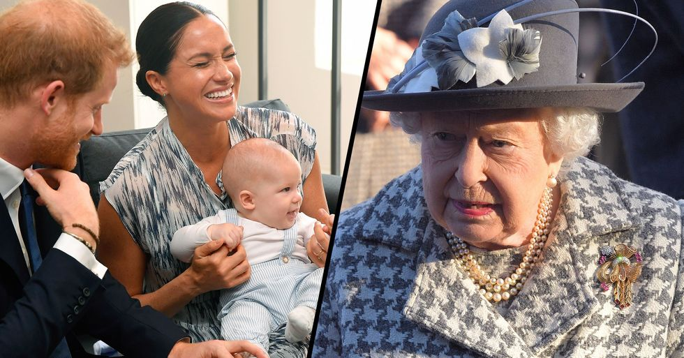 The Queen Is 'Very Sad' That Archie Will 'Miss out' on Growing up With the Royal Family