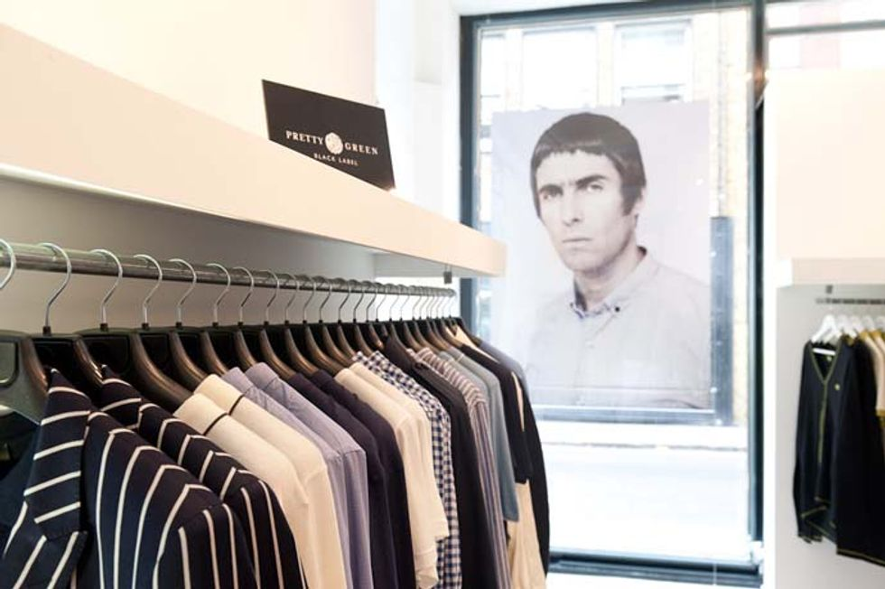 Liam Gallagher Launches Pretty Green Pop-Up, Looks at Apartments Near Central Park