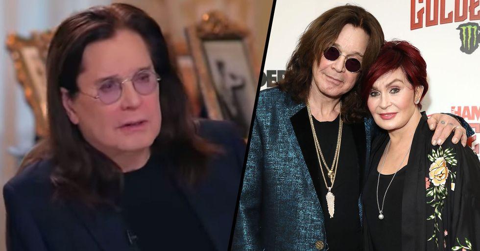 Ozzy Osbourne Announces That He Has Parkinson's Disease