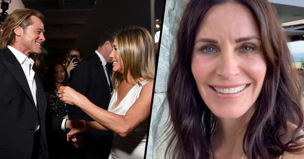 Courteney Cox Fuels Jennifer Aniston and Brad Pitt Reconciliation Rumors