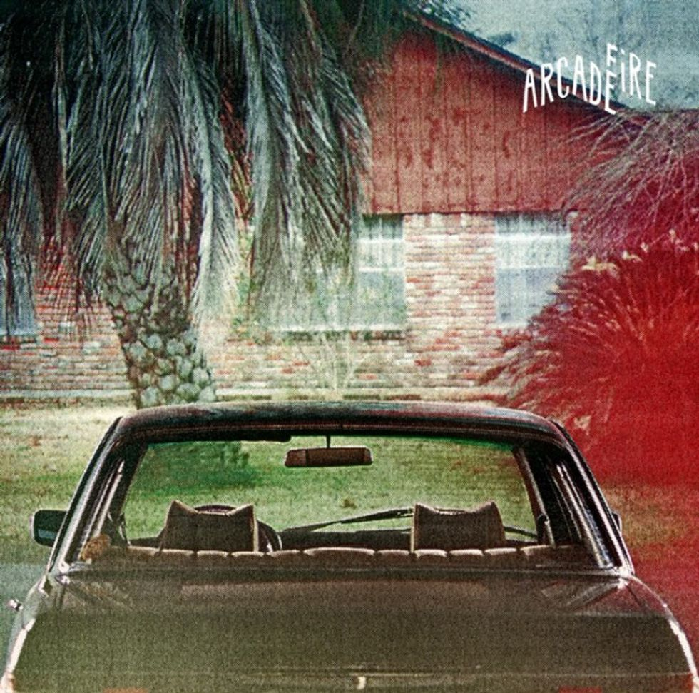 Gabriel Jones' Cover for the Arcade Fire's The Suburbs is our Work of the Day