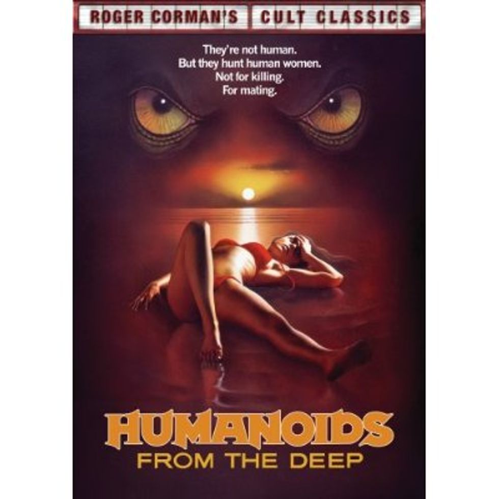 Humanoids From The Deep  On DVD!