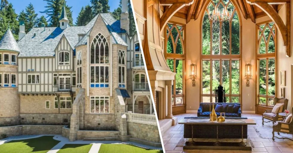 You Can Rent an Entire Castle in California for $117 a Night