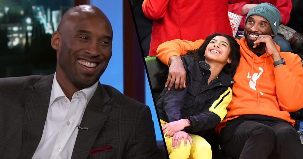 Kobe Bryant Talking About Daughter Gianna on 'Jimmy Kimmel' is Beautiful