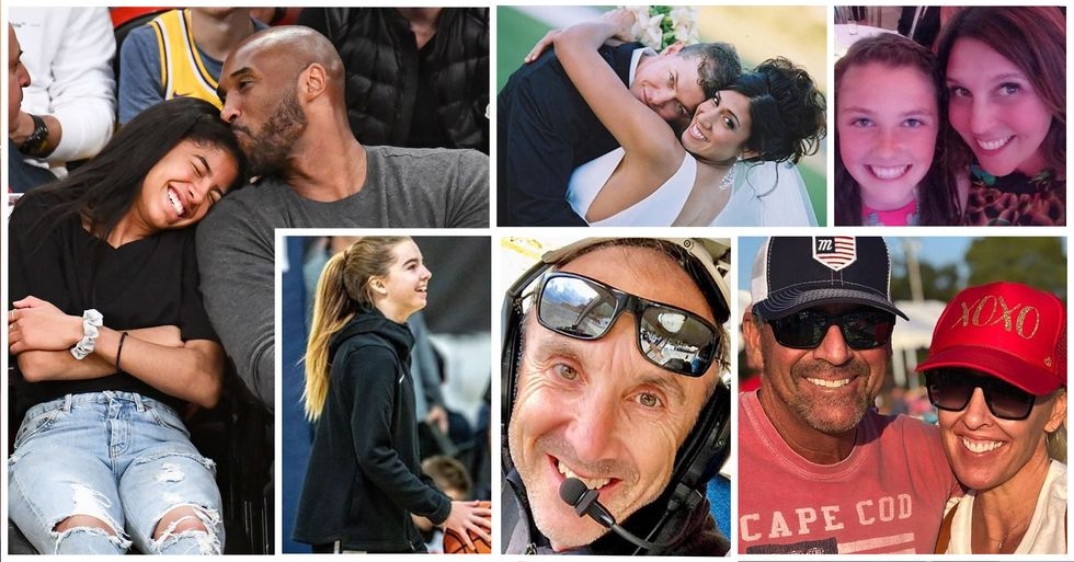 All Nine Victims of the Helicopter Crash That Killed Kobe Bryant and His Daughter Named