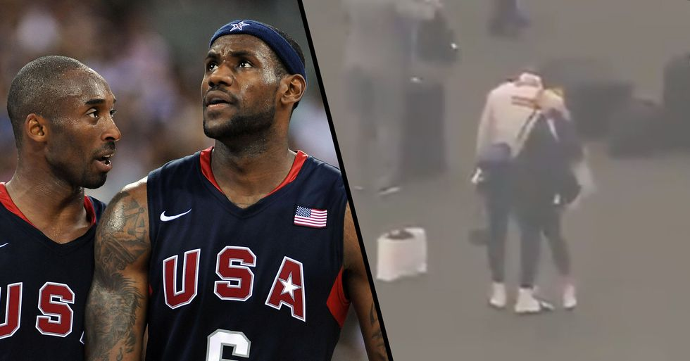 Lebron James Breaks Down After Hearing News of His Idol's Death