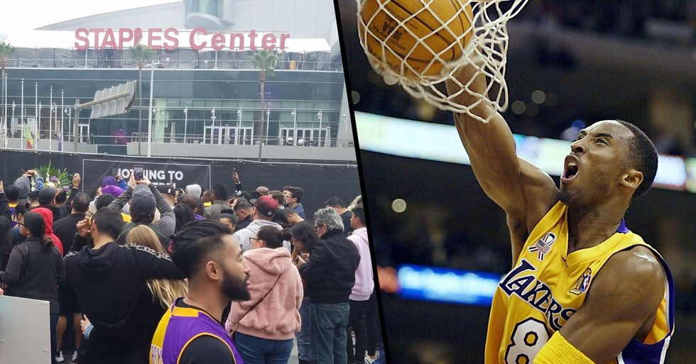 People Are Calling for the Staples Centre to Be Renamed After Kobe Bryant