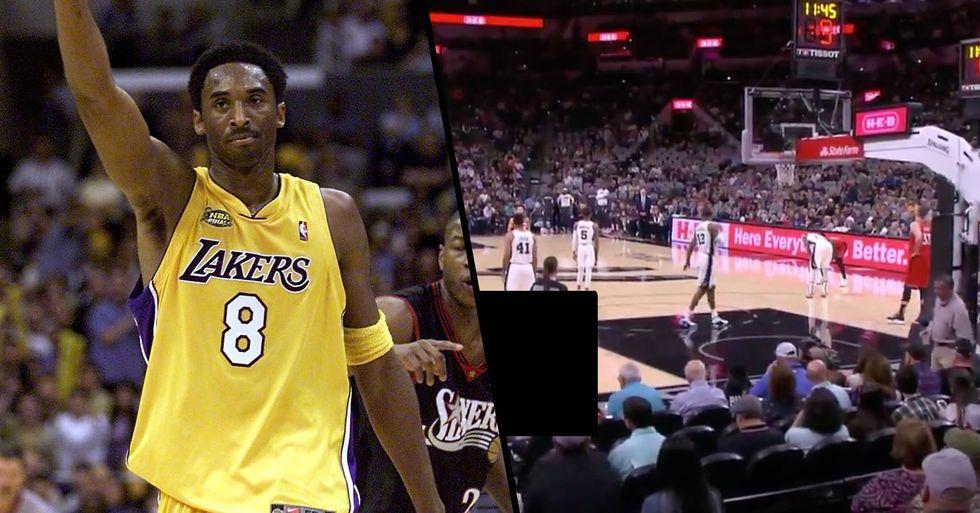 Raptors and Spurs Both Took 24-Second Violations in Honor of Kobe Bryant