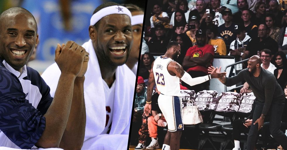 LeBron James' Message to 'Brother' Kobe Bryant is Beautiful
