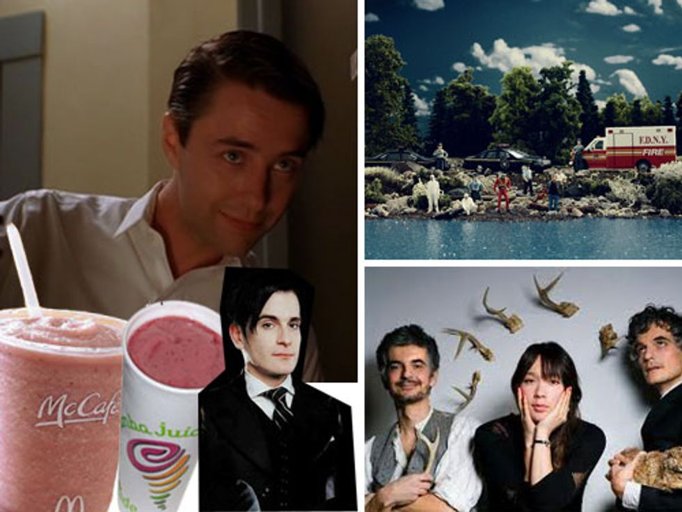 Pete Campbell's Bitch Face + Smoothie Wars in Today's Eight Items or Less