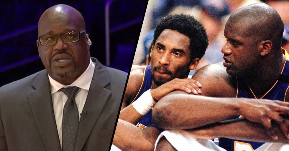 Shaquille O'Neal Breaks Down in Tears as He Speaks About 'Little Brother' Kobe Bryant