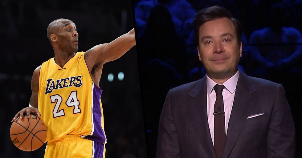 Jimmy Fallon Breaks Down as He Recalls the First Time He Met Kobe Bryant as a 17-Year-Old