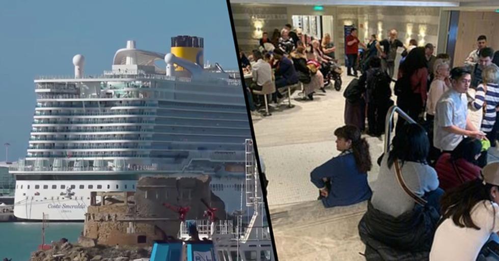 Cruise Ship Carrying 7,000 Passengers Hit by 'Coronavirus Fears'