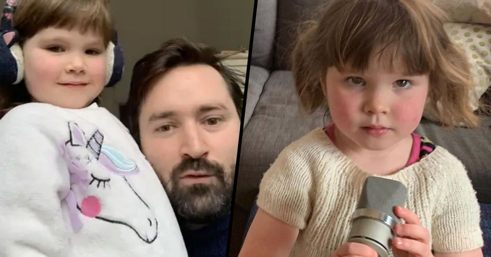 A 3-Year-Old Girl Wrote a Song Called 'Dinosaurs in Love' and It's Breaking People's Hearts