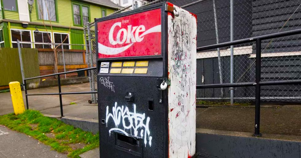 The Incredible Story Behind Seattle's Mysterious Vintage Soda Machine