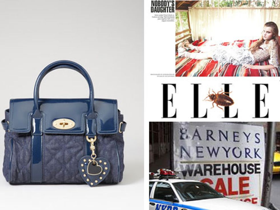 Mulberry Does Target and Tavi Styles Christine Staub in Today's Style Scraps