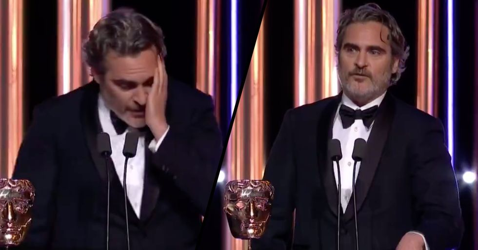 Joaquin Phoenix Admits He's 'Part of the Problem' of Racism at the BAFTAs