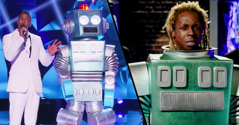 Lil Wayne Revealed as the Robot on 'Masked Singer' Season Premier