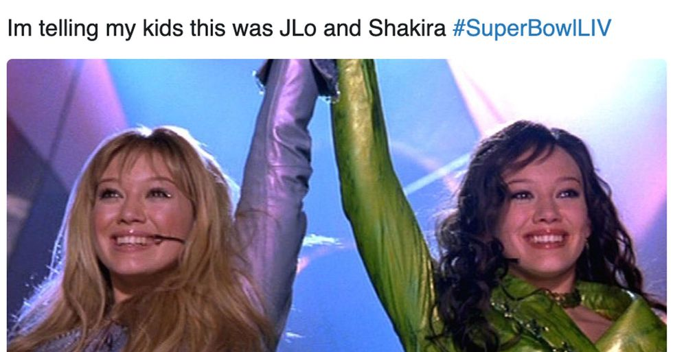 Here Are All the Best Tweets About J-Lo and Shakira's Halftime Show