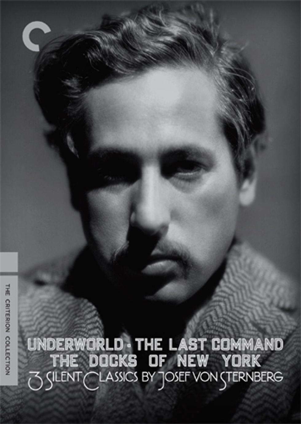 3 Silent Classics By Josef Von Sternberg On Criterion DVD!