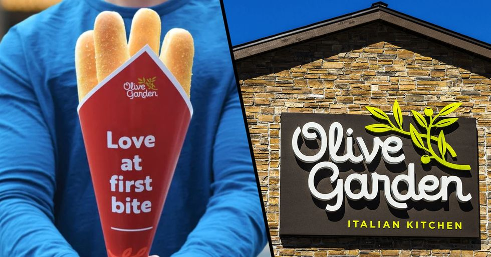 Olive Garden Is Selling Its Famous Breadsticks in Bouquets for Valentine's Day
