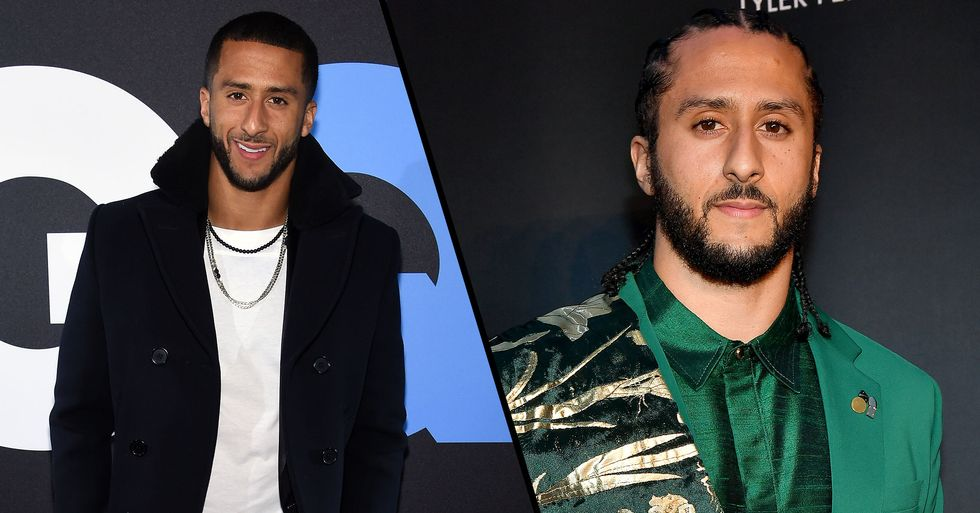 Colin Kaepernick Spent Super Bowl Sunday Handing out Meals and Suits to the Needy