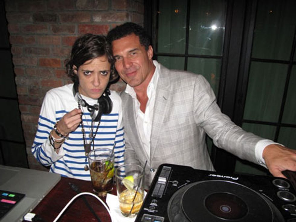 Samantha Ronson and Andre Balazs: Write the Caption Contest