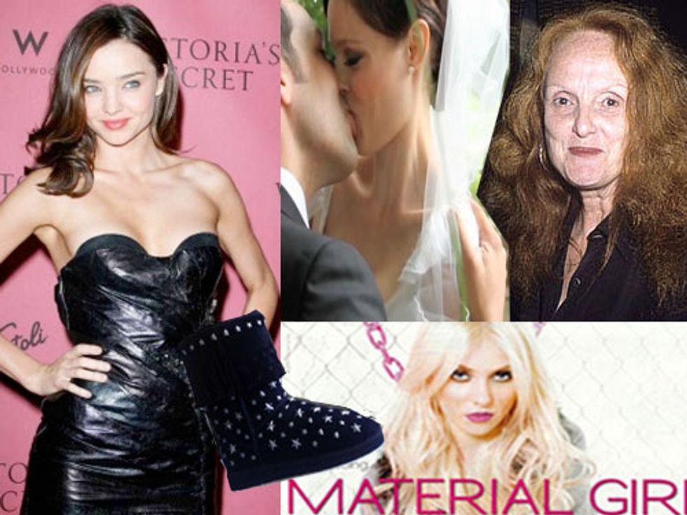 Grace Coddington's Memoir and Miranda Kerr's Secret in Today's Style Scraps
