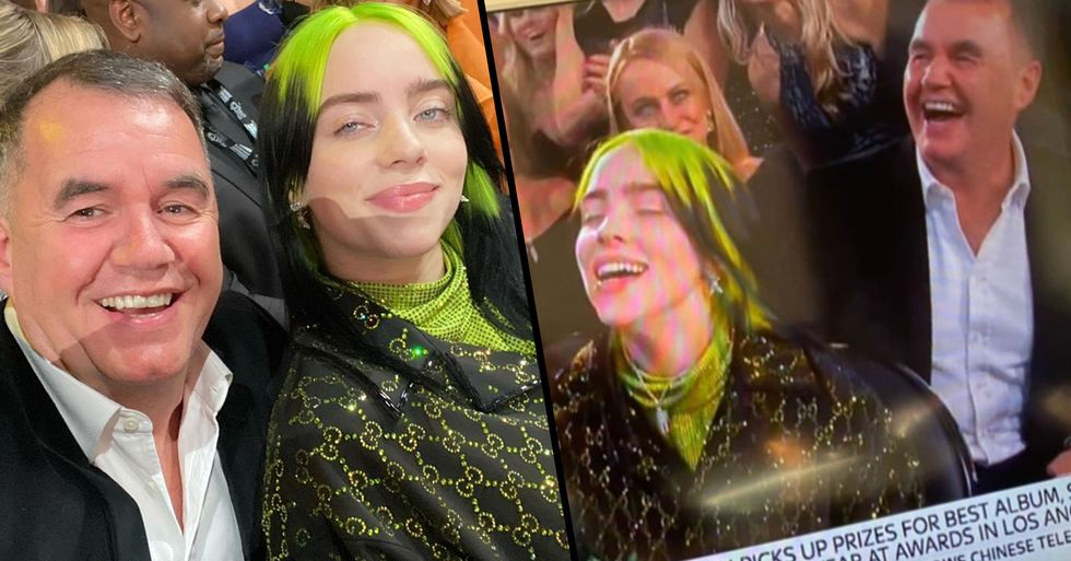 Man Who Sat Beside Billie Eilish at the Grammy's Had No Idea Who She Was but Now Says He's 'Such a Fan'