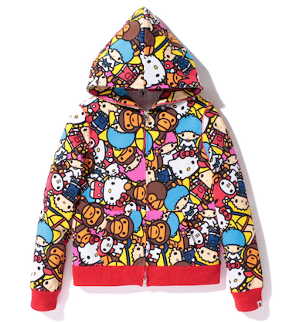 BAPE Teams Up With Sanrio For NYC Pop-Up Shop