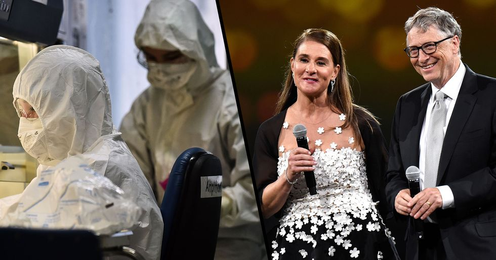 Bill and Melinda Gates Donate $100 Million to Coronavirus Vaccine Research and Treatment