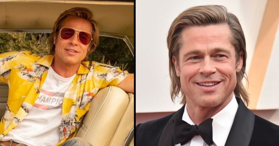 Brad Pitt Wins Best Supporting Actor At The Oscars