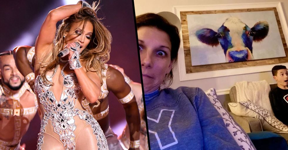 Mom Shares Her 14-Year-Old Son's Reaction to J-Lo's Super Bowl Performance