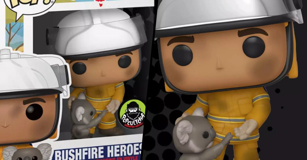 Australian Firefighters Get Their Own Funko Pop to Help Animals Impacted by Bushfires