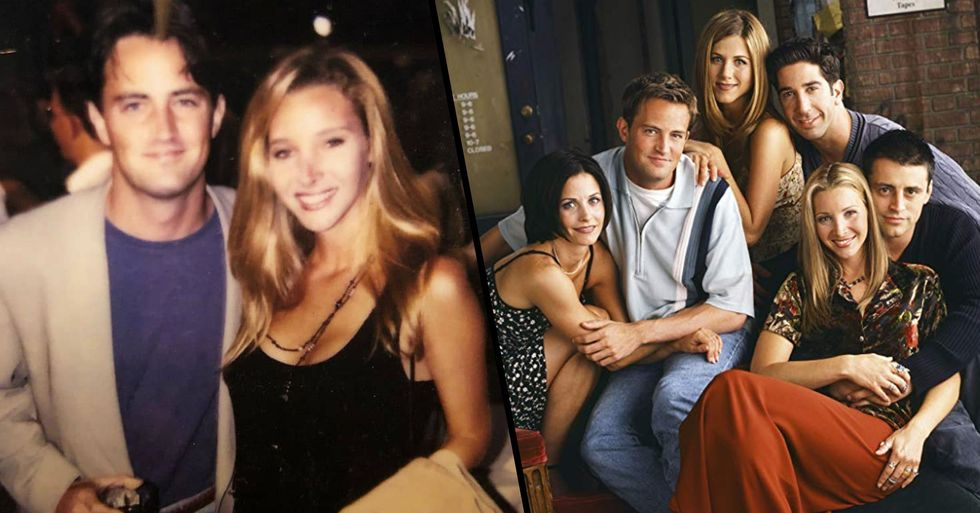 Matthew Perry Finally Joins Instagram With Rest Of 'Friends' Cast