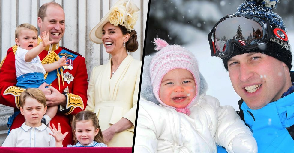 Prince William Styled Princess Charlotte's Hair and We Can't Handle the Cuteness
