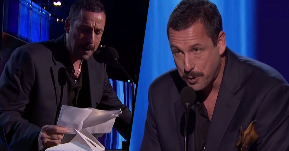 Adam Sandler Gets Oscar Snub Revenge by Mocking Nominees