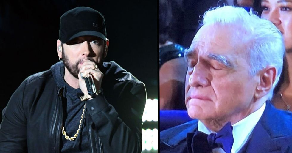 The Best Reactions to Eminem's Surprise Oscars Performance