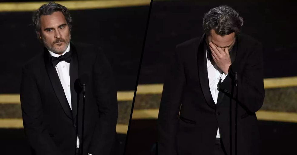 Joaquin Pheonix Pays Touching Tribute to Brother River During Emotional Acceptance Speech