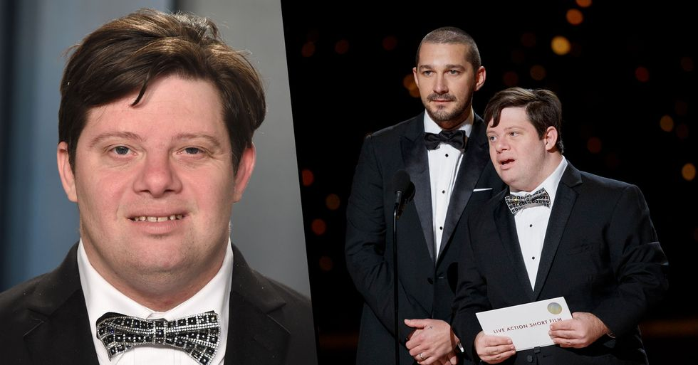 Zack Gottsagen Made History as the Oscars' First Presenter With Down's Syndrome