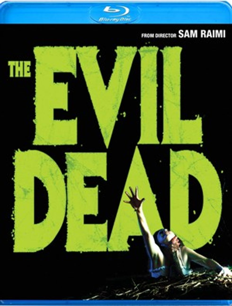 The Evil Dead On Blu-ray!