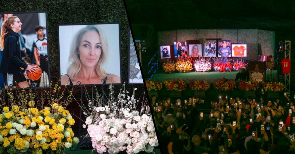 Altobelli Family Remembered at Memorial Service Two Weeks After Kobe Helicopter Crash