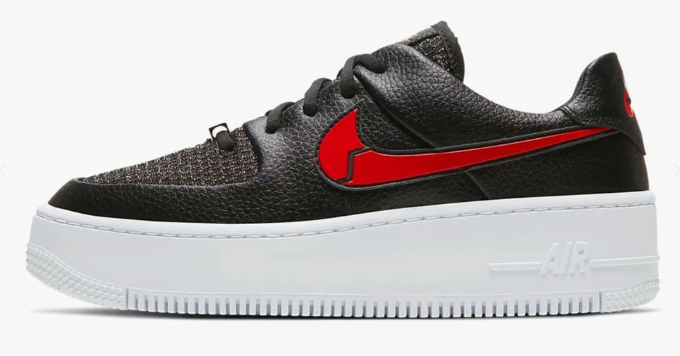 Nike's Valentine's Day Air Force 1 Features a Heartbroken Swoosh