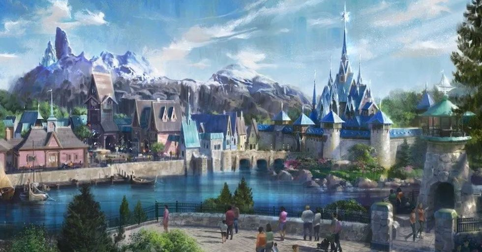 Disney Has Unveiled First Look at New Frozen Land at Disneyland