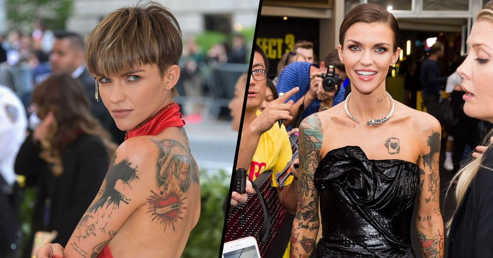 Ruby Rose Has All of Her Tattoos Removed