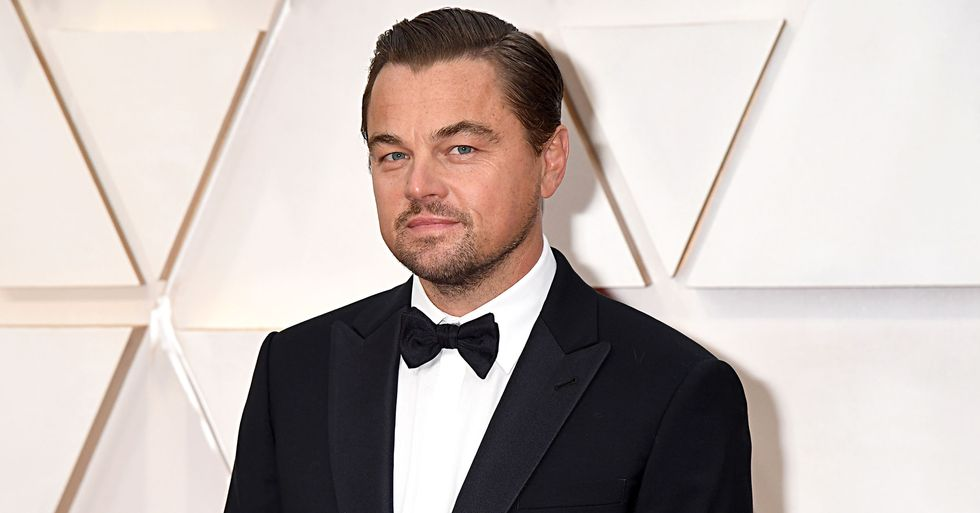 Leonardo DiCaprio Brings Girlfriend to Oscars for First Time