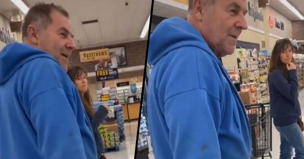 Mom Confronts Man 'Who Wouldn't Stop Staring at Daughter's A**' in Store